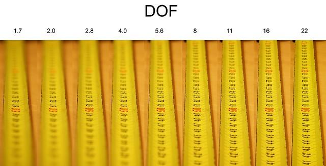DOF-oefening 50procent
