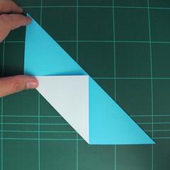 การพับกระดาษเป็นรูปตัวเม่นแคระ (Origami Hedgehog) 007