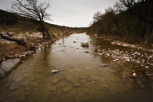 water river landscape pedernales