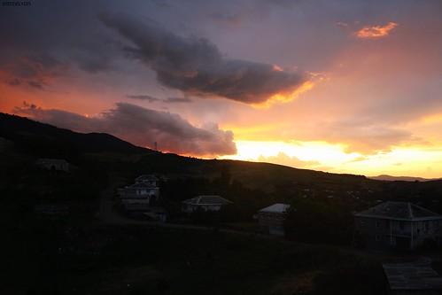 sunset armenia ijevan tavush idzhevan idjevan sevkar sevqar