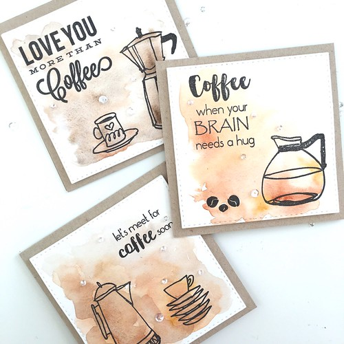 Coffee card set | by Kimberly Toney