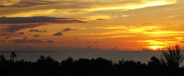 Sunset on the caribbean sea - Varadero, Cuba