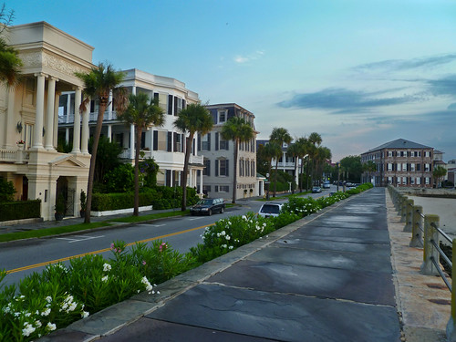 morning homes sky usa architecture clouds sunrise dawn waterfront unitedstates south southcarolina historic seawall charleston southern promenade antebellum thebattery mansions ashleyriver cooperriver