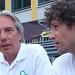 Angelo Seneci v rozhovoru s Jirkou Sikou, foto: Petr Nejedlý