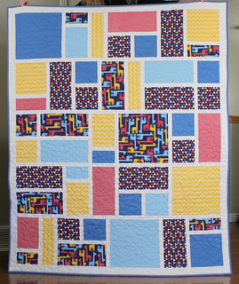 Jack's Blocks quilt (throw size)