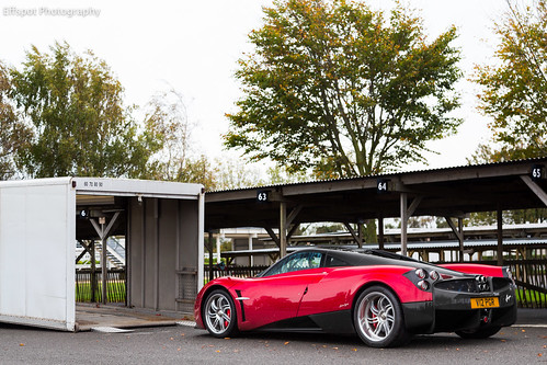 Loading up the Huayra