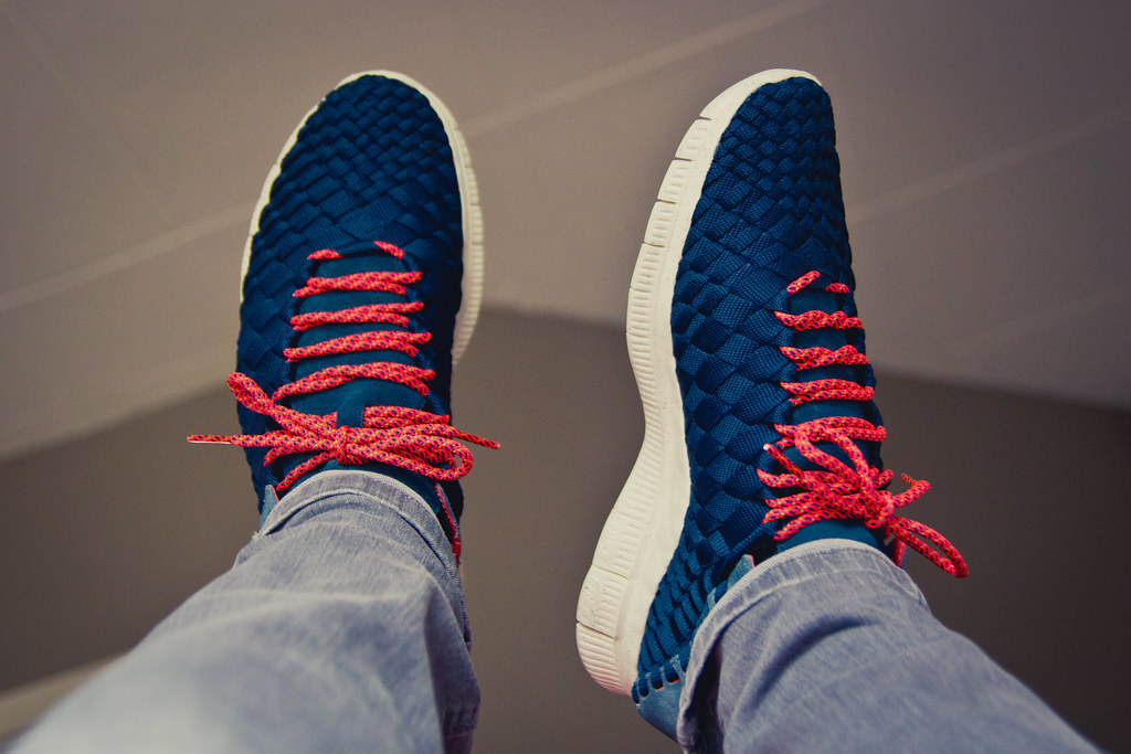 buy online f1028 92aa9 ... Nike Free Inneva Woven Armory Navy Armory Slate   by eddylindeboom