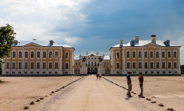Lettland, Schloss Rundale 01