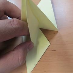 วิธีพับกระดาษเป็นดอกกุหลายแบบเกลียว 021