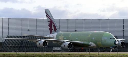 First Engine Run msn145 F-WWAL 30/1/2014   by A380_TLS_A350