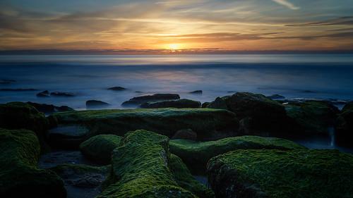 sunlight sunrise northcarolina carolinabeach fortfisher wilmingtonnc coquinarocks sel35f28z sonyilce7