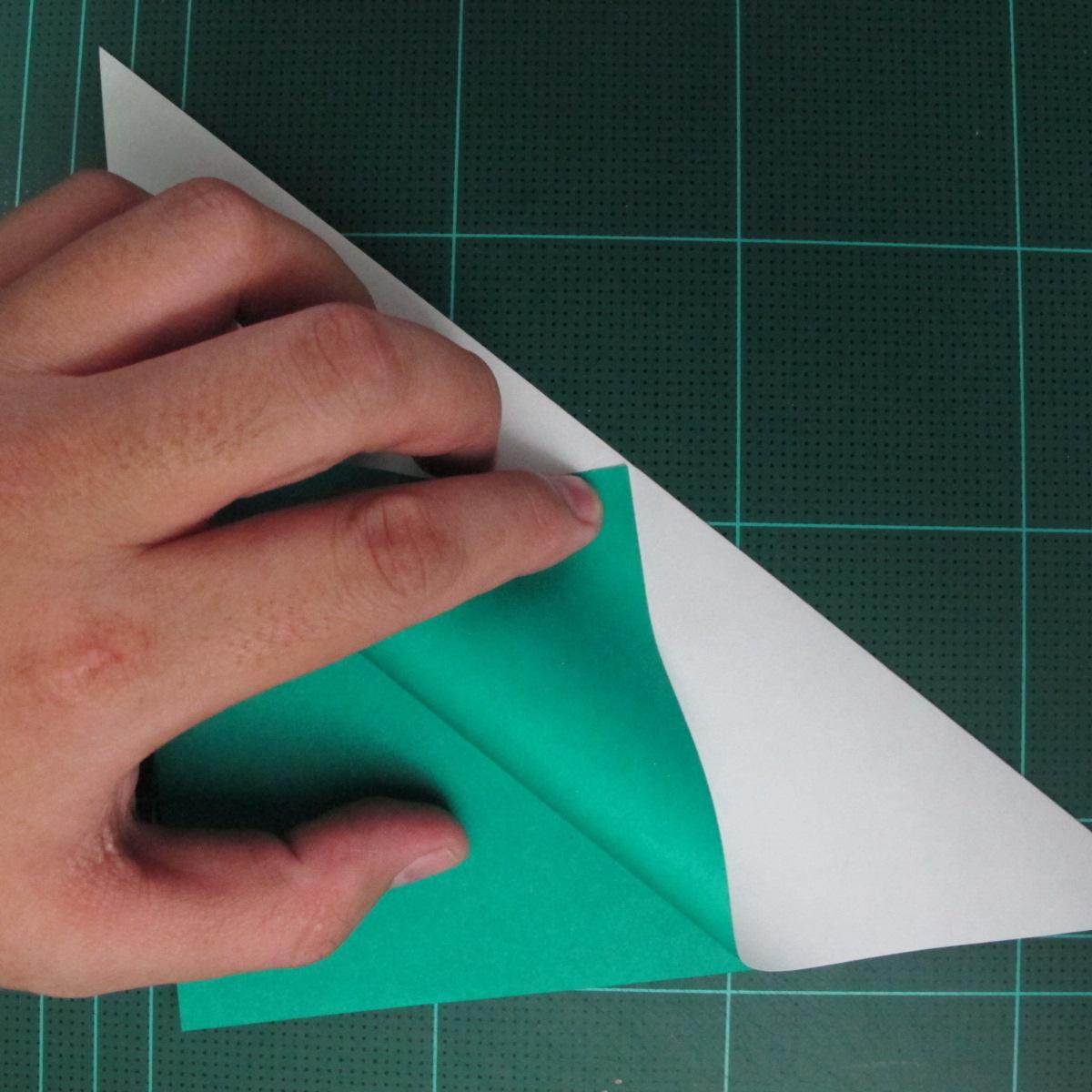 การพับกระดาษเป็นรูปเรือมังกร (Origami Dragon Boat) 006