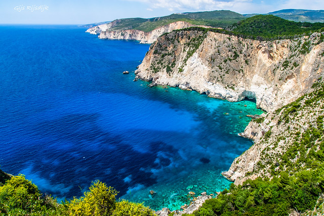 The Keri Cliffs of Zakynthos