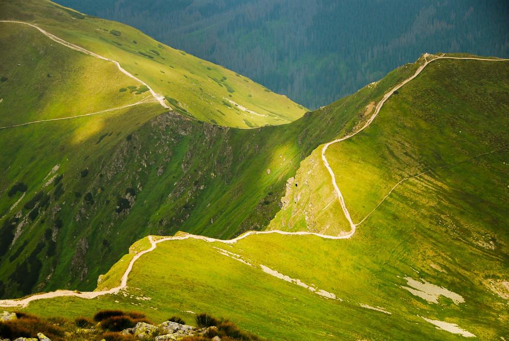 Tatra Mountains - Ridge of Starorobociański WIerch and Siwa Pass