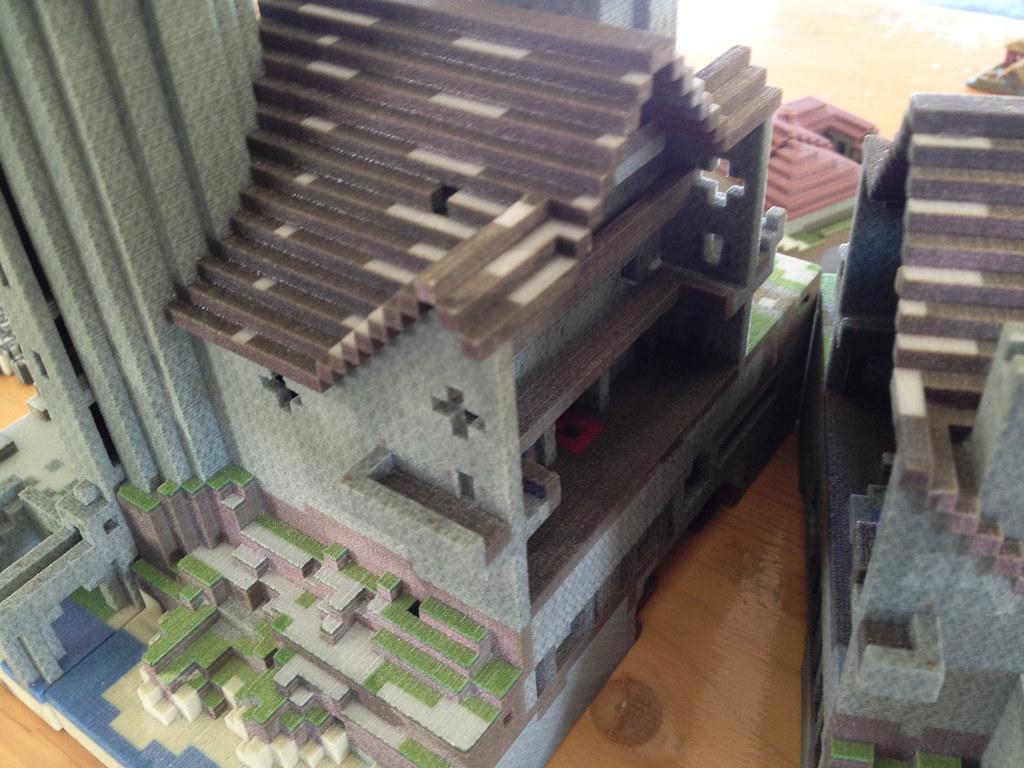 Minecraft Castle Interior Ruben Van Staveren Flickr