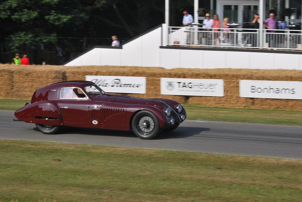 1938 Alfa Romeo 8c 2900b Lemans Coupe