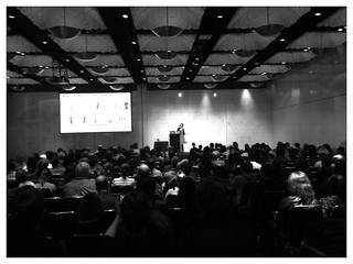 @jdevylder on stage at #uxaustralia