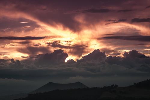 anorámica de los volcanes.