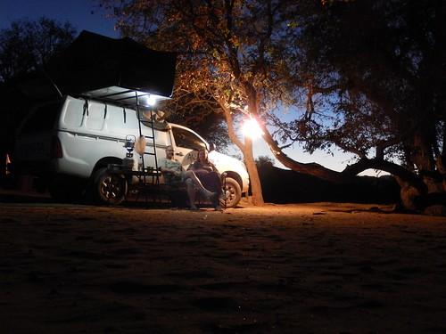 Abu Huab - knus op de camping