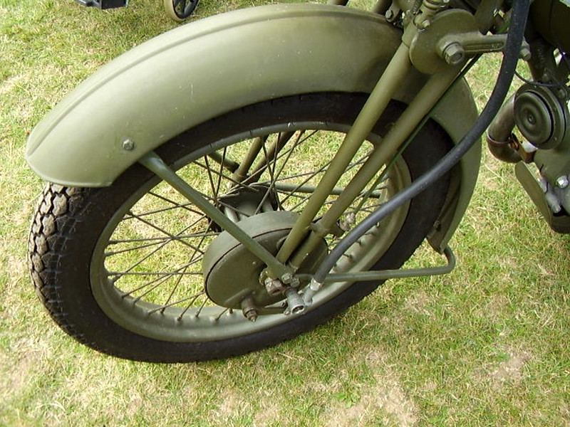 Norton (WD)16H Motorcycle (6)