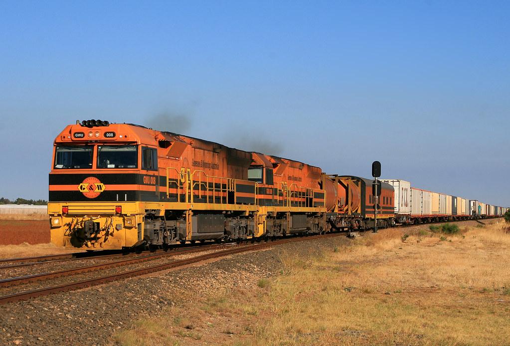 6DA2 GWU008+GWU009 by Trackside Photography Australia