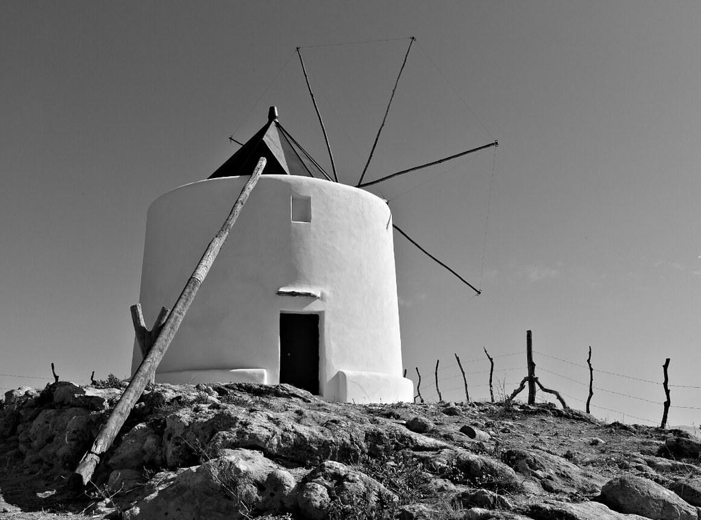 Windmill, Vejer de la Frontera, Andalucia