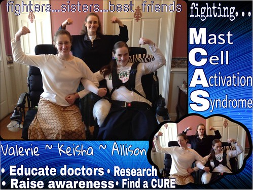 Sisters Fighting Mast Cell Activation Syndrome | by rarediseaseday