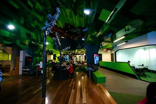 RMIT Swanston Academic Building lounge, Melbourne | by Joe Lewit