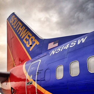 There are only 15 737-500s left flying for Southwest and I got to work one today finally. They come through DEN very rarely.