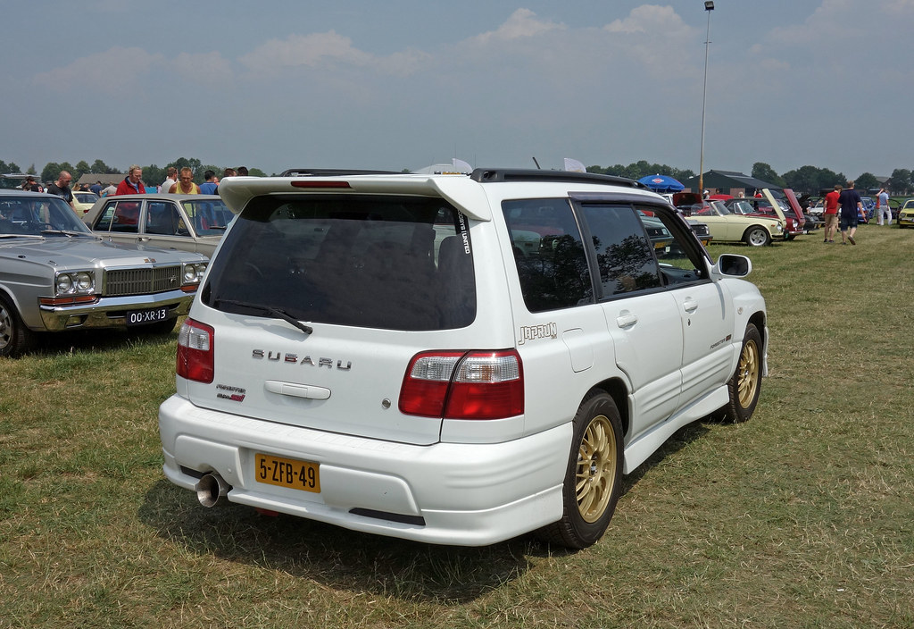 Subaru Forester Stb With Sti Package Type Sf Ph 2 Jp S