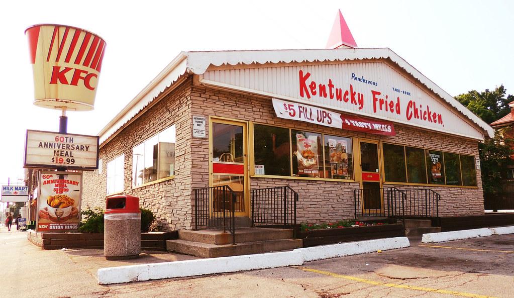1960 S Style Kentucky Fried Chicken Scott S Chicken Vill