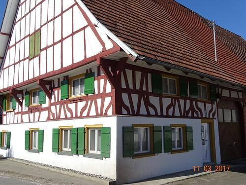 Fachwerkhaus in Bad Waldsee-Osterhofen.