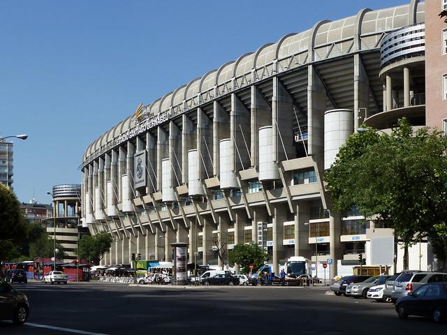 Estadio Santiago Bernabéu - Madrid, Spain