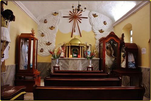 Templo San Juan Aquiahuac,San Andrés Cholula,Estado de Puebla,,México