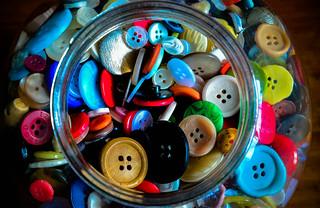 Jar of buttons | by photographerpandora
