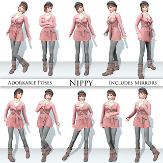 Adorkable Poses: Nippy