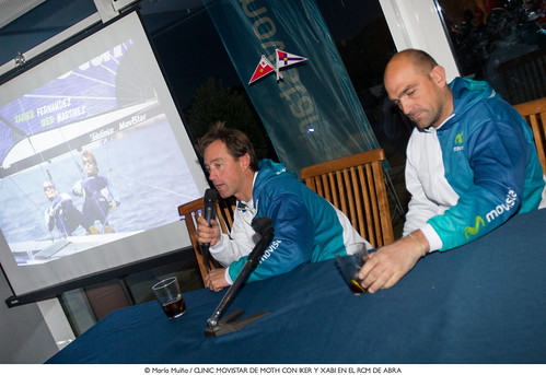 Conferencia Iker y Xabi | by Infosailing