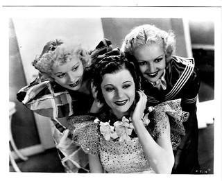 Lucy with Harriett Hilliard and Betty Grable