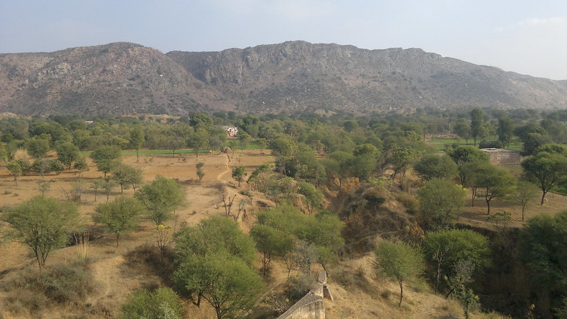 Top view from Achrol Bagh