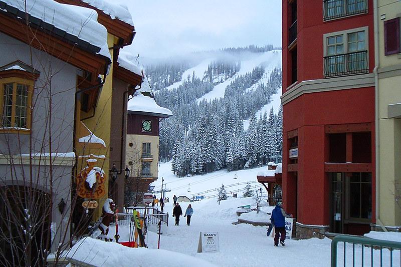 Sun Peaks Ski Resort, Tod Mountain, Thompson Okanagan, British Columbia, Canada