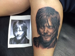 Daryl Dixon Tattoo I Got This Tattoo Of Norman Reedus As D