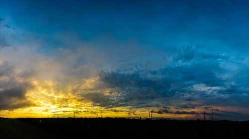 sunset panorama texas unitedstates tx houston hdr johnchandler addicksreservoir nikkor20mmais johnsdigitaldreamscom sonya7r