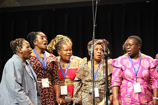 Brethren Choral Sounds Choir from Zimbabwe sang at MWC July 23, 2015 | by MennoniteArchivesofVirginia