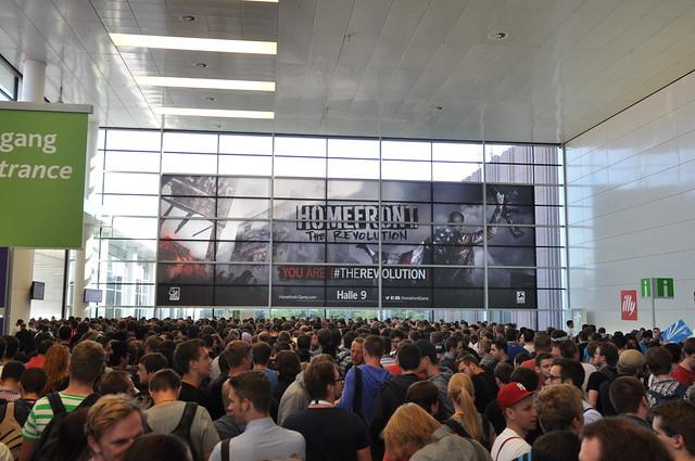 Einlass auf der Gamescom