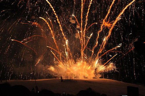 Courchevel Fireworks Festival