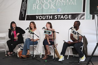 Simone Elkeles, Carolyn Mackler, Melissa Walker, and Chris Grant | by Brooklyn Book Festival 2016