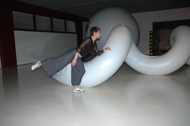 2008 - Installazione, GAM a tutta danza, A cura della Galleria d'Arte Moderna di Gallarate, presso Procaenium, Gallarate