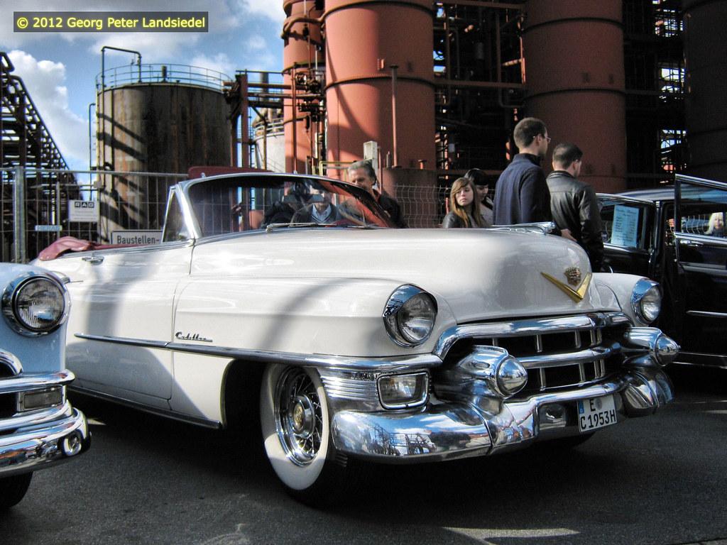 Cadillac 1953- Essen - Zeche Zollverein_137_2012-10-07