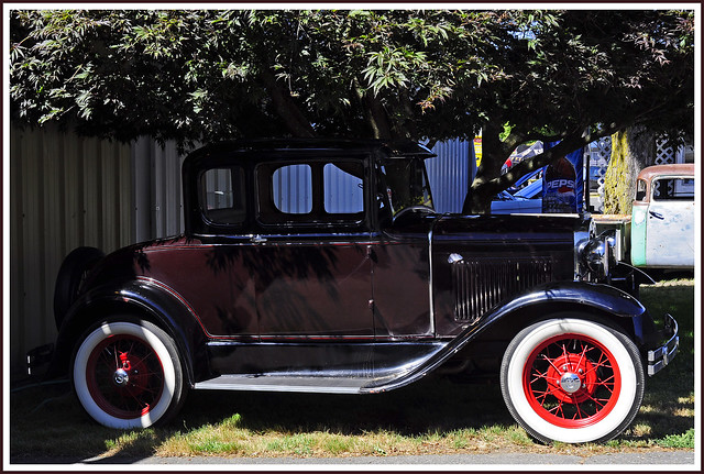 1930 Model A Ford 5 Window Coupe