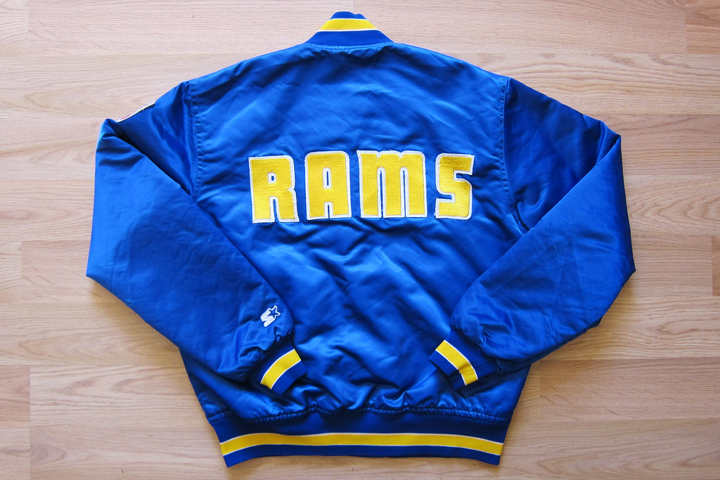 uk availability 52a95 ce8c5 L.A. Rams Starter Jacket | Made by Starter. Manufactured in ...